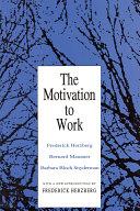 Motivation to Work