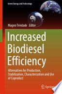 Increased Biodiesel Efficiency Book PDF