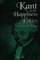 Pdf Kant on Happiness in Ethics