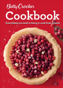Betty Crocker Cookbook  12th Edition