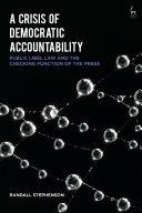 A Crisis of Democratic Accountability Pdf/ePub eBook