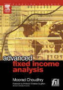 Advanced Fixed Income Analysis Book PDF