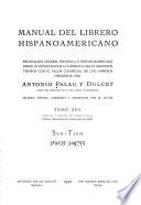 Manual del librero hispano-americano