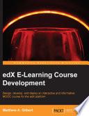 Edx E Learning Course Development