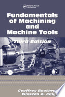 Fundamentals of Metal Machining and Machine Tools Book