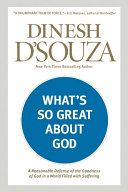 Pdf What's So Great about God Telecharger