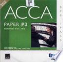 Acca New Syllabus - P3 Business Analys