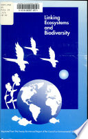Linking ecosystems and biodiversity