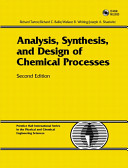Cover of Analysis, Synthesis, and Design of Chemical Processes