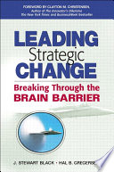 Leading Strategic Change