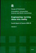 Engineering: Oral and written evidence