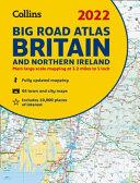 2022 Collins Big Road Atlas Britain  A3 Paperback