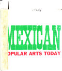 Mexican Popular Arts Today PDF