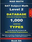 2018 SAT Subject Math Level 2 Book Da Book
