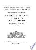 Estudios y fuentes del arte en México
