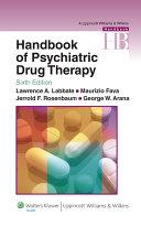 Handbook of Psychiatric Drug Therapy