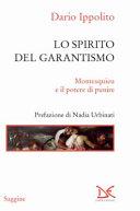 Lo spirito del garantismo. Montesquieu e il potere di punire