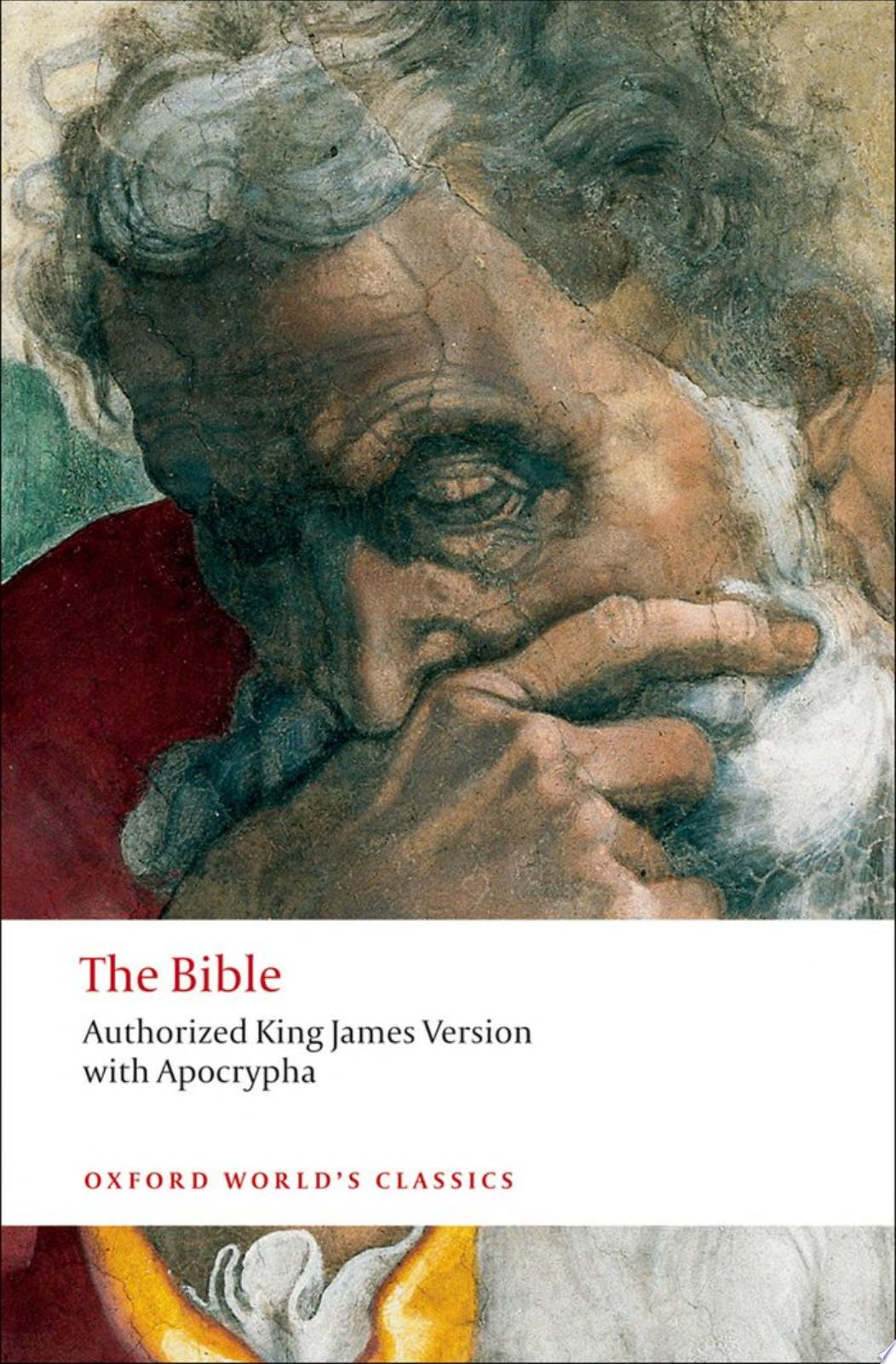 The Bible  Authorized King James Version