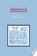 Hydrogeology Of Crystalline Rocks Book PDF