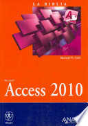 La biblia de Access