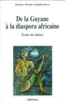 Pdf De la Guyane à la diaspora africaine Telecharger