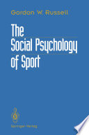 The Social Psychology of Sport Book