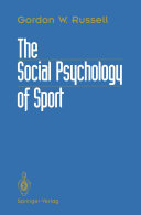 The Social Psychology of Sport
