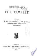 Shakespeare s The Tempest Book