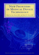 New Frontiers In Medical Device Technology Book PDF