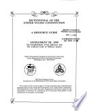 Bicentennial of the United States Constitution Book PDF