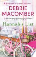 Hannah s List Book