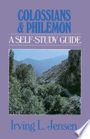 Colossians Philemon Jensen Bible Self Study Guide