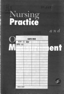 Nursing Practice and Outcomes Measurement