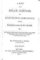 Pdf A Key to the Solar Compass, and Surveyor's Companion