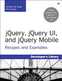 jQuery, jQuery UI, and jQuery Mobile