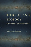 Religion and Ecology
