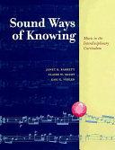 Sound Ways of Knowing