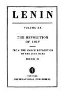 Collected Works of V  I  Lenin  pt 1 2 The revolution of 1917