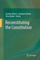 Reconstituting the Constitution Pdf/ePub eBook