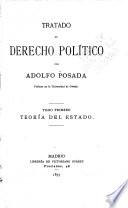 Tratado de derecho político: Teoria del estado