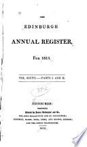 The Edinburgh Annual Register Book