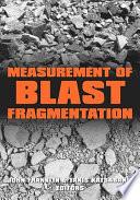 Measurement of Blast Fragmentation