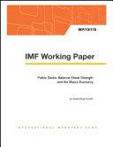 Public Sector Balance Sheet Strength and the Macro Economy Pdf