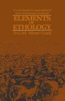 Elements of Ethology