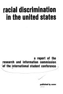 Racial Discrimination in the United States Book PDF