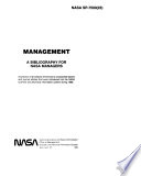 Management A Bibliography For Nasa Managers
