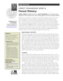 Forest Stewardship Series 4  Forest History