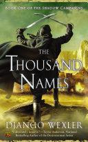The Thousand Names Pdf/ePub eBook