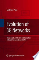 Evolution of 3G Networks Book