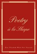Pdf Poetry a La Shape